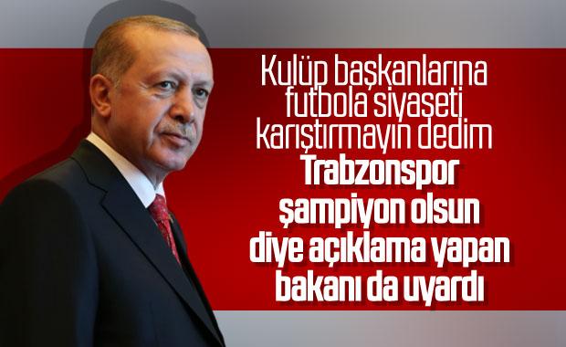 Cumhurbaşkanı Erdoğan, gündemi değerlendirdi