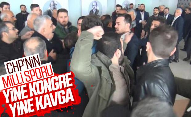 Şanlıurfa'daCHP kongresinde kavga