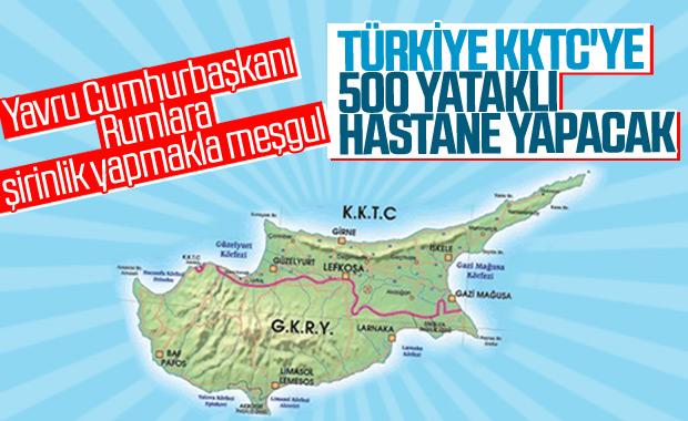 Türkiye, KKTC'ye 500 yataklı hastane yapacak