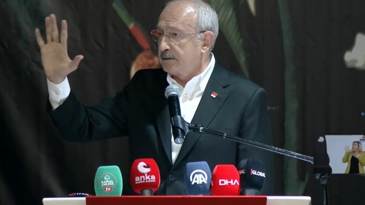 Kılıçdaroğlu, Suriye politikasını eleştirdi