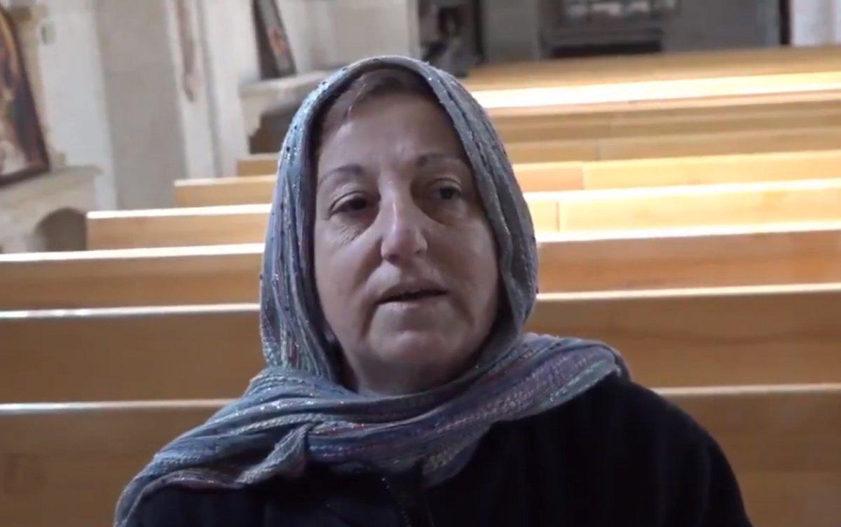 Barış Pınarı bölgesindeki kilise onarıldı