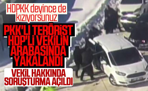Evinde terörist saklayan HDP'li vekile soruşturma