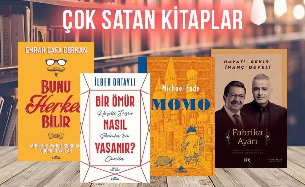 Çok satan kitaplar - 14 Şubat 2020