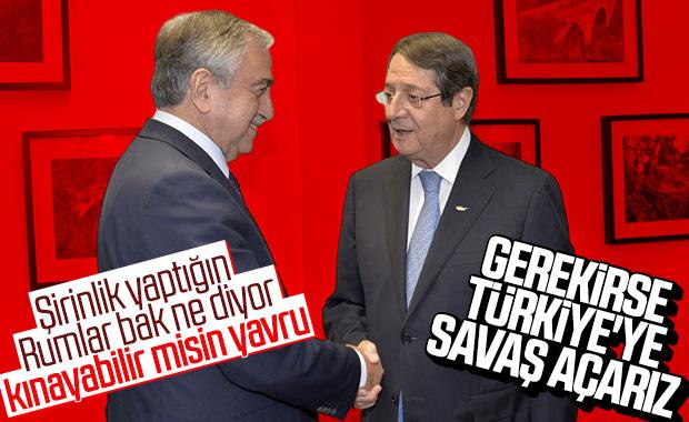 Anastasiadis: Gerekirse Türkiye ile savaşırız