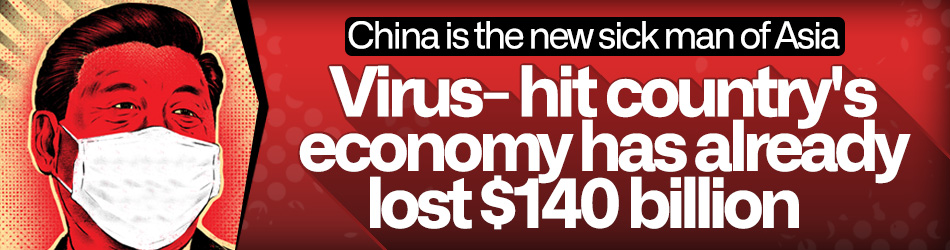 Virus-hit China is in economic emergency