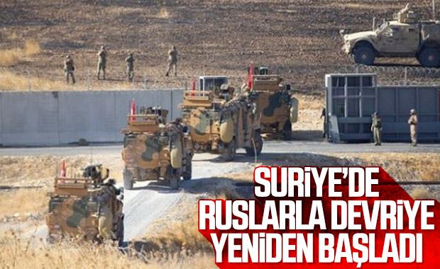 Türkiye ile Rusya'nın ortak devriyeleri yeniden başladı