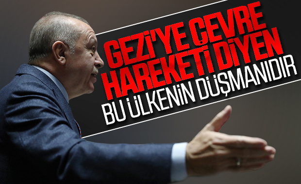 Cumhurbaşkanı Erdoğan'dan Gezi olayları yorumu