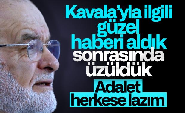 Temel Karamollaoğlu'ndan Osman Kavala yorumu