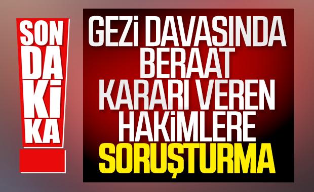 HSK'dan Gezi Parkı davasındaki hakimlere soruşturma