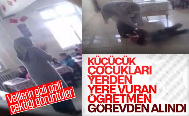 Gaziantep'te şiddet uygulayan öğretmen görevden alındı