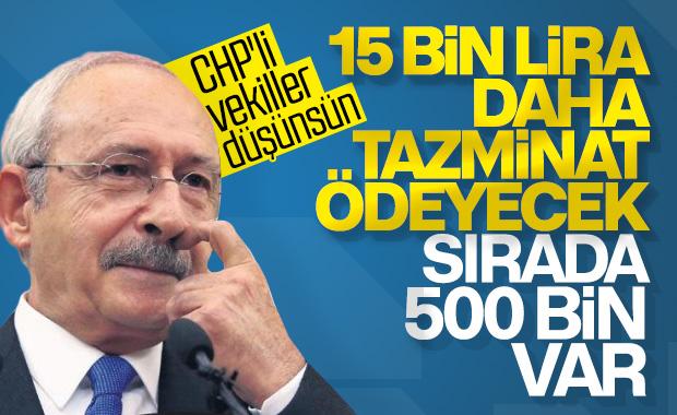 Erdoğan, Kılıçdaroğlu'ndan 15 bin lira tazminat kazandı