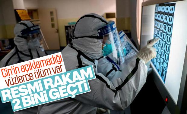 Koronavirüs ölümleri 2 bini aştı