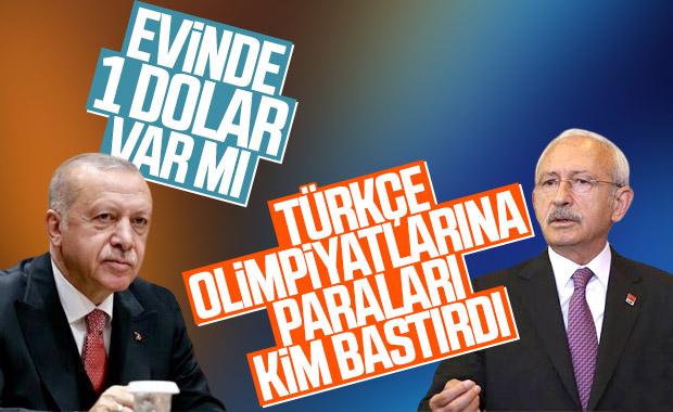 Kılıçdaroğlu'ndan Cumhurbaşkanı Erdoğan'a para yanıtı