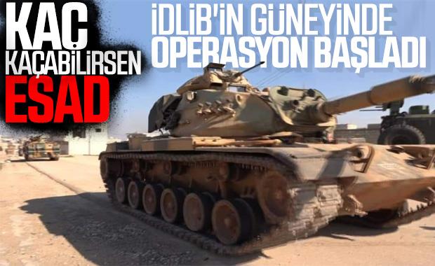 SMO, İdlib'in güneyinde operasyon başlattı