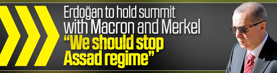 Erdoğan calls Macron to hold summit on Assad regime
