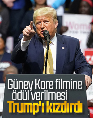 Trump'tan Brad Pitt ve Parazit filmine tepki