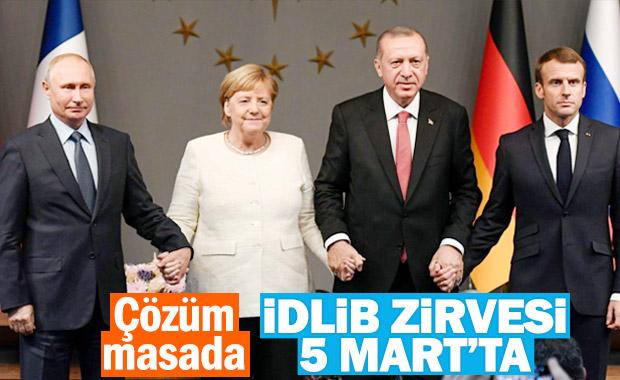 Erdoğan İdlib zirvesinin tarihini verdi