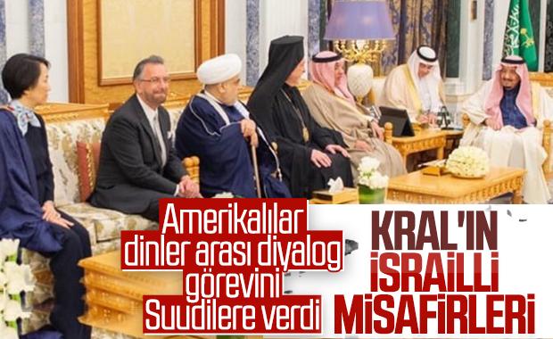 Suudi Arabistan Kralı, İsrailli haham Rosen'i ağırladı