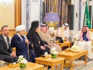 Suudi Arabistan Kralı, İsrailli haham Rosen'i ağırladı #1