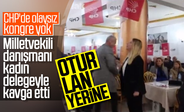 CHP'li vekil danışmanından kadın delegeye tehdit