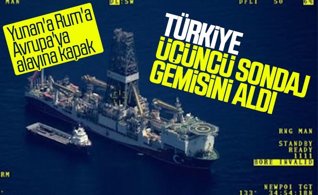 Üçüncü sondaj gemisi yakında Türkiye'de olacak