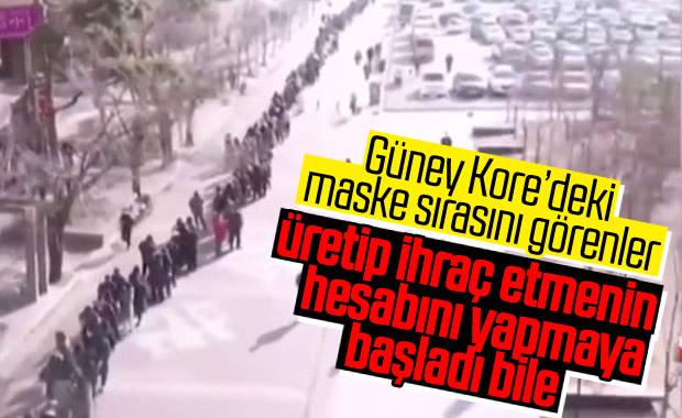 G.Kore'de bitmeyen maske kuyruğu