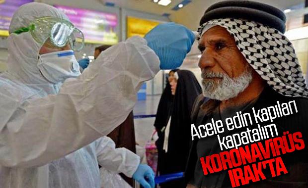 Irak'ta ilk koronavirüs vakası