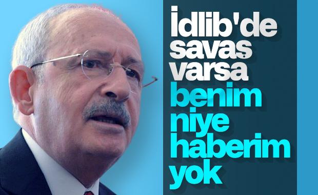 Kemal Kılıçdaroğlu: Suriye'de neden savaşıyoruz