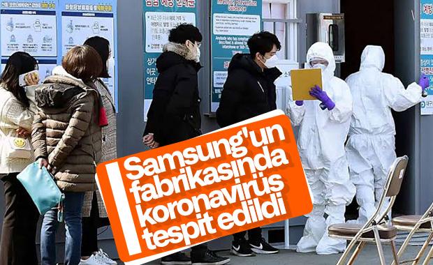 Samsung, koronavirüs tespit edilen fabrikasını kapattı