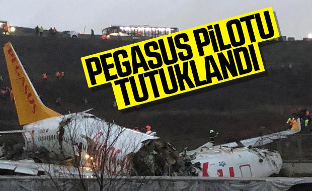 Adliyeye sevk edilen Pegasus pilotu tutuklandı