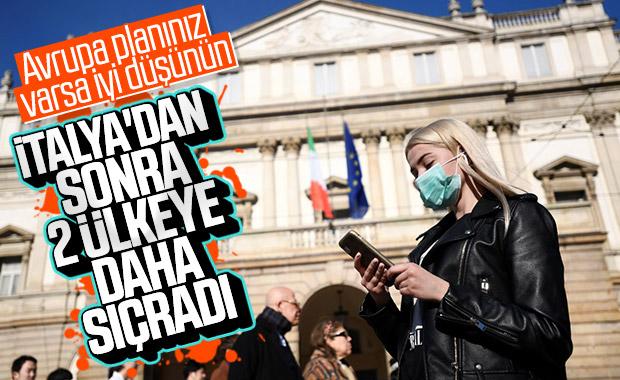 Koronavirüs Hırvatistan ve Avusturya'ya sıçradı