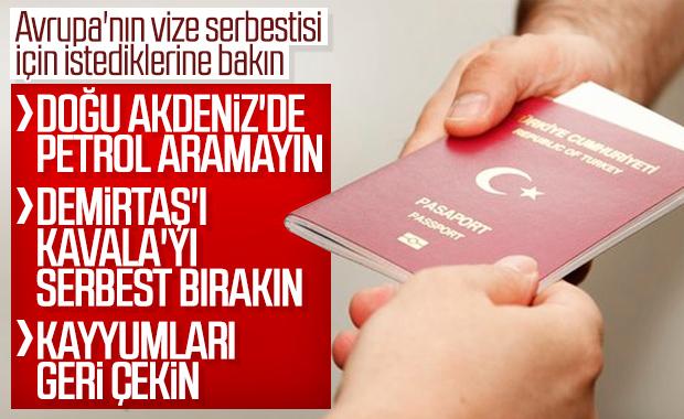 AP'den Türkiye'ye istek listesi
