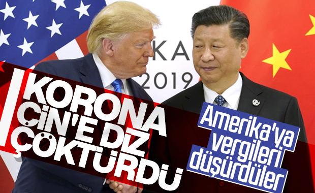 Çin, ABD'ye karşı vergileri düşürdü