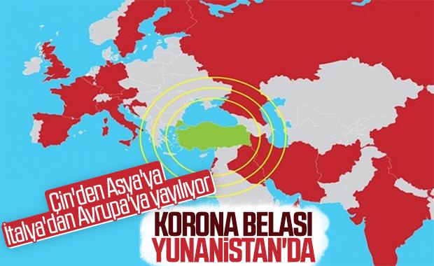 Yunanistan'da ilk koronavirüs vakası tespit edildi
