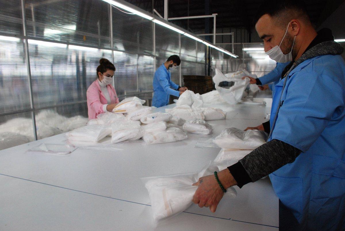 Tokat'tan dünyaya tulum ihracatı
