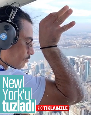 Nusret New York'a tuz serpti