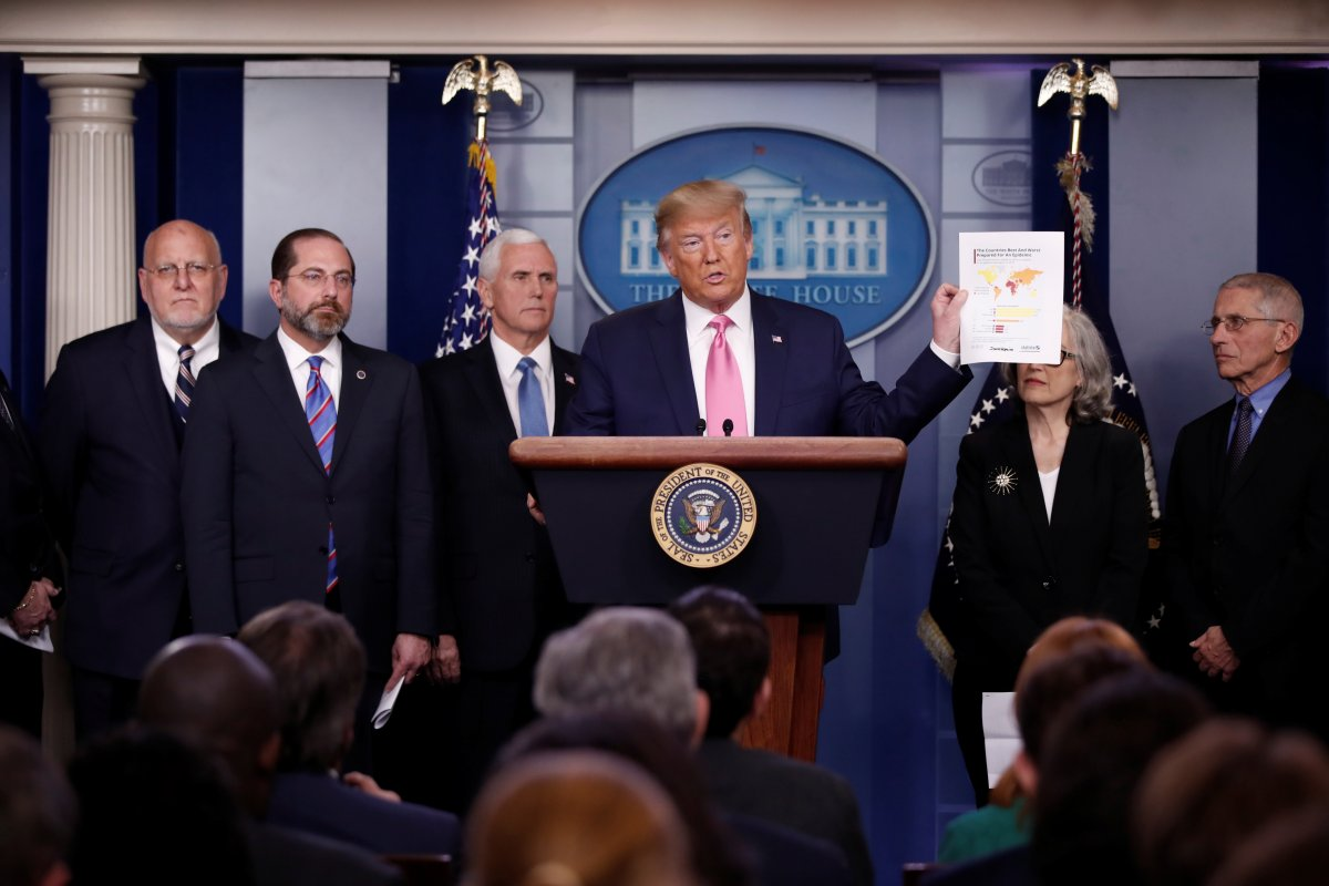 Trump: Koronavirüs riski ABD için düşük