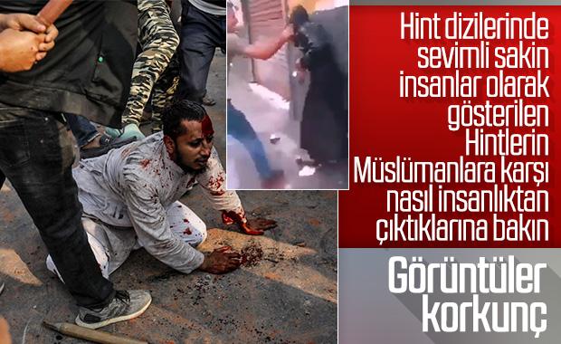 Hindistan'da Müslümanlar katlediliyor