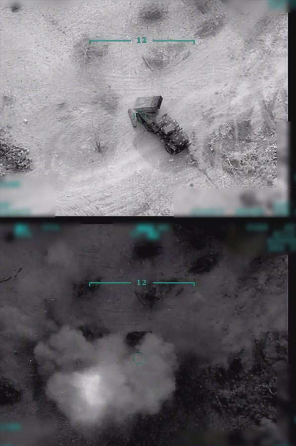 Rejim güçleri havadan ve karadan vuruluyor