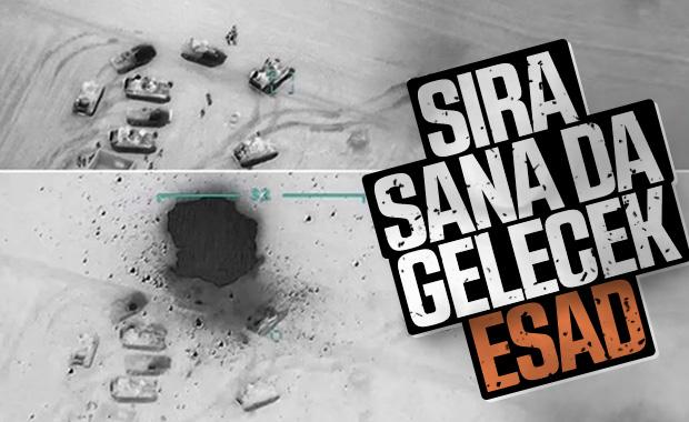 Türk askeri gece boyunca rejim unsurlarını vurdu