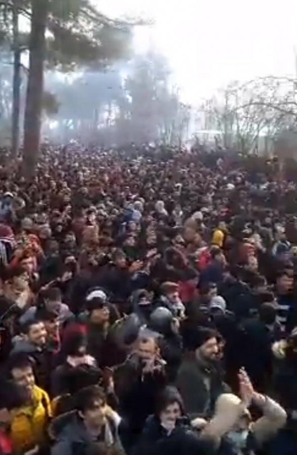 Avrupa sınırına yoğun göçmen akını