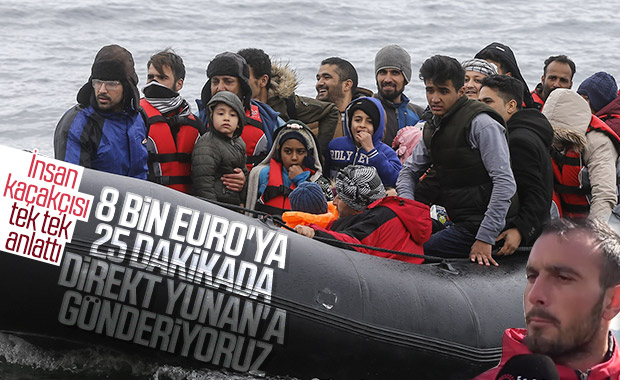 Ayvacık'tan Yunanistan'a 25 dakikada gidiliyor