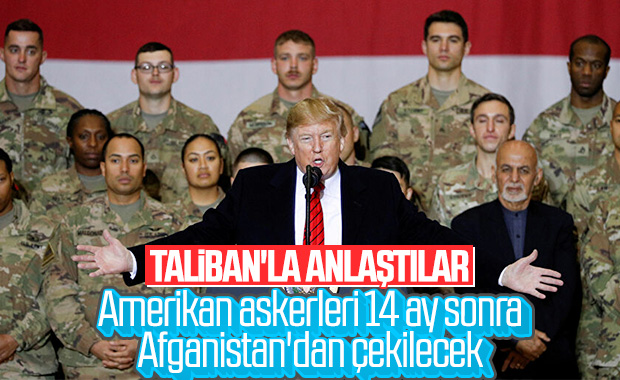 ABD ile Taliban beklenen anlaşmayı imzaladı