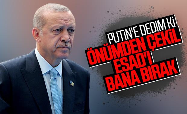 Erdoğan, liderlerle görüşmelerini anlattı