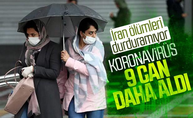 İran'da koronavirüs ölümleri devam ediyor
