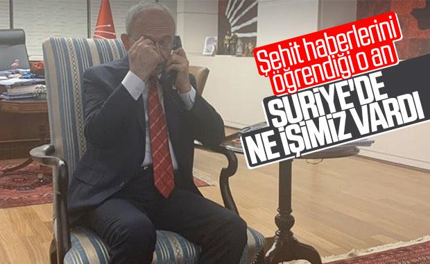 Kılıçdaroğlu'nun şehit haberlerini öğrendiği o an