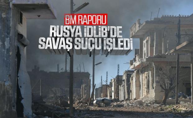 BM: Rusya ve Esad rejimi savaş suçu işledi