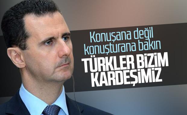 Esad Türkiye'ye karşı geri adım attı