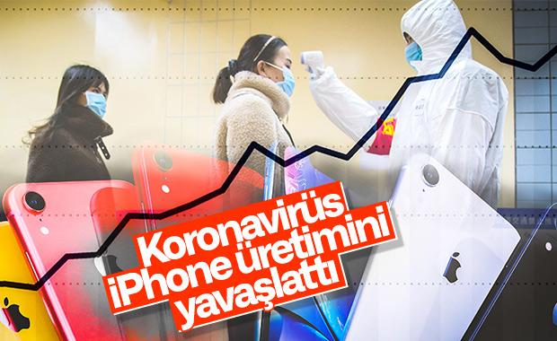 Apple, koronavirüs nedeniyle iPhone üretimini yavaşlatıyor