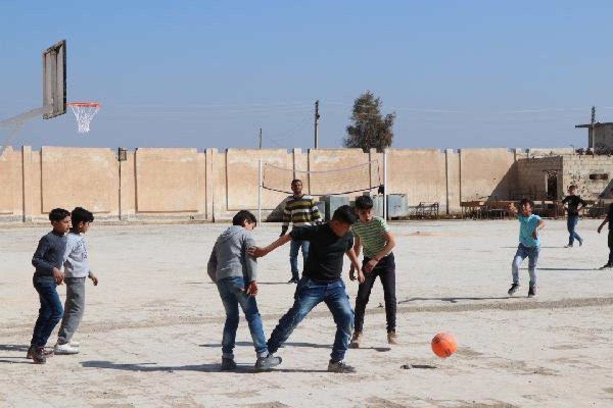 Tel Abyad'da çocuklar için etkinlikler düzenlendi